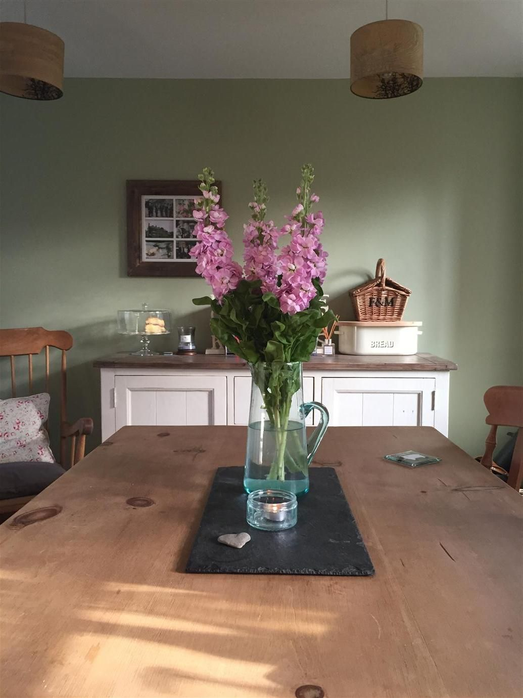 Best Farrow Ball Cooking Apple Green Green Dining Room 640 x 480