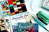 Beginning Encaustic Art - an index of helpful pages.