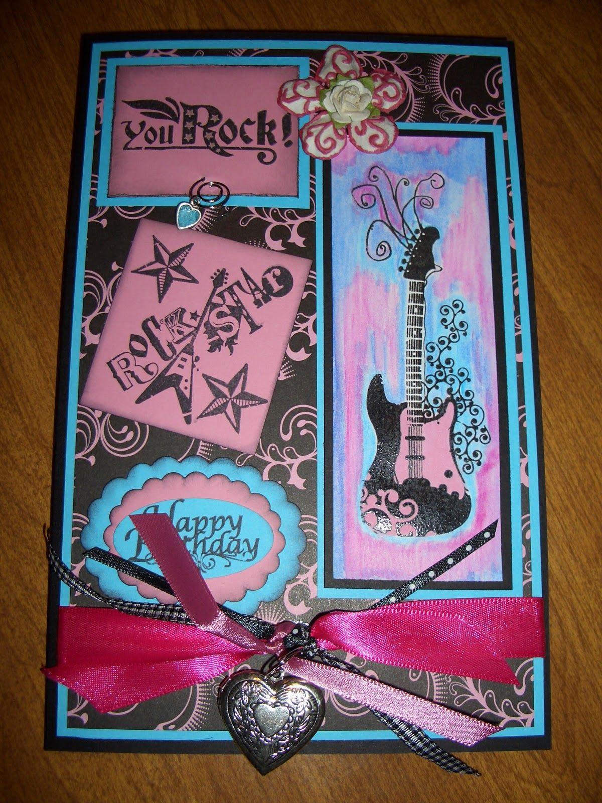 homemade birthday cards for girl – Teen Birthday Cards