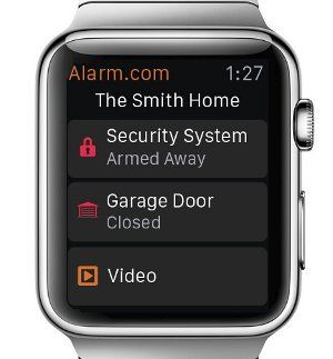 Offers Security on the Go with Apple Watch App
