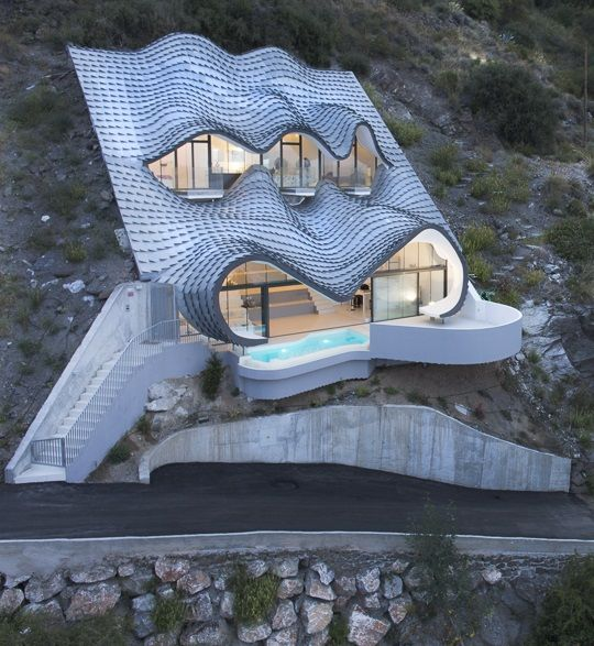 Casa del Acantilado (Cliff House) Salobrea Gil Bartolome ...