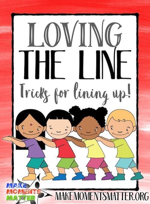 """Loving the Line  Tricks for Lining Up is part of Classroom management preschool - Does it ever feel like the last 3 minutes of class can be the craziest  You get students all settled down where they're learning and following directions with no problems and the second you mention the words """"line up"""" they turn into a herd of cats  Line up time doesn't …"""
