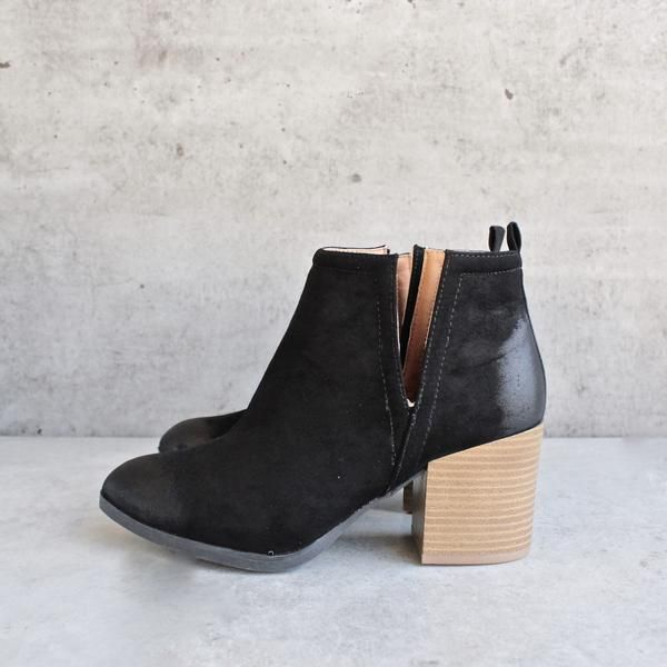 8df3ef1589d4 Side slit chelsea ankle booties - more colors | shoes | Ankle ...