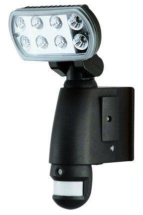 Smart Guard Motion Sensor Led Light W Camera Audio By Smartguard 179 99 This High Powered Led Light Motion Sensor Lights Outdoor Motion Sensor Led Lights