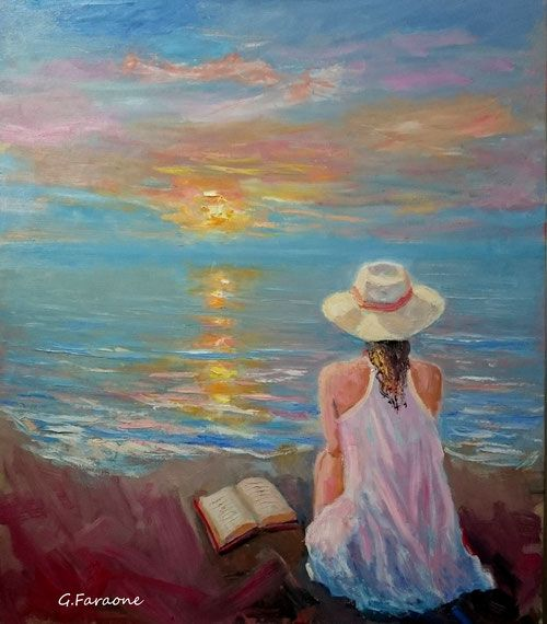 Risultati immagini per pittura a olio paesaggi marini for Dipinti ad olio fiori