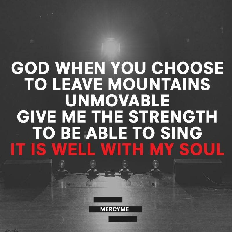 Lyric it is well with my soul lyrics hillsong : Even If