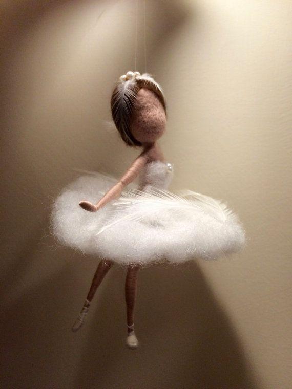Needle FeltedFairy Tiny Dancer