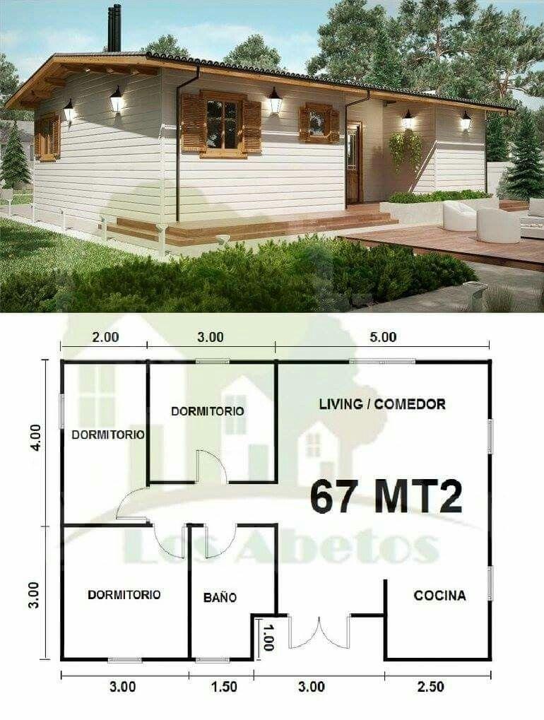 770 1019 for Casa moderna 80m2