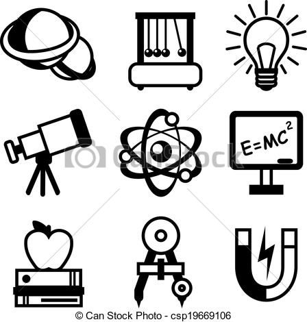 Vector Illustration - Science, biology and chemistry icon set ...