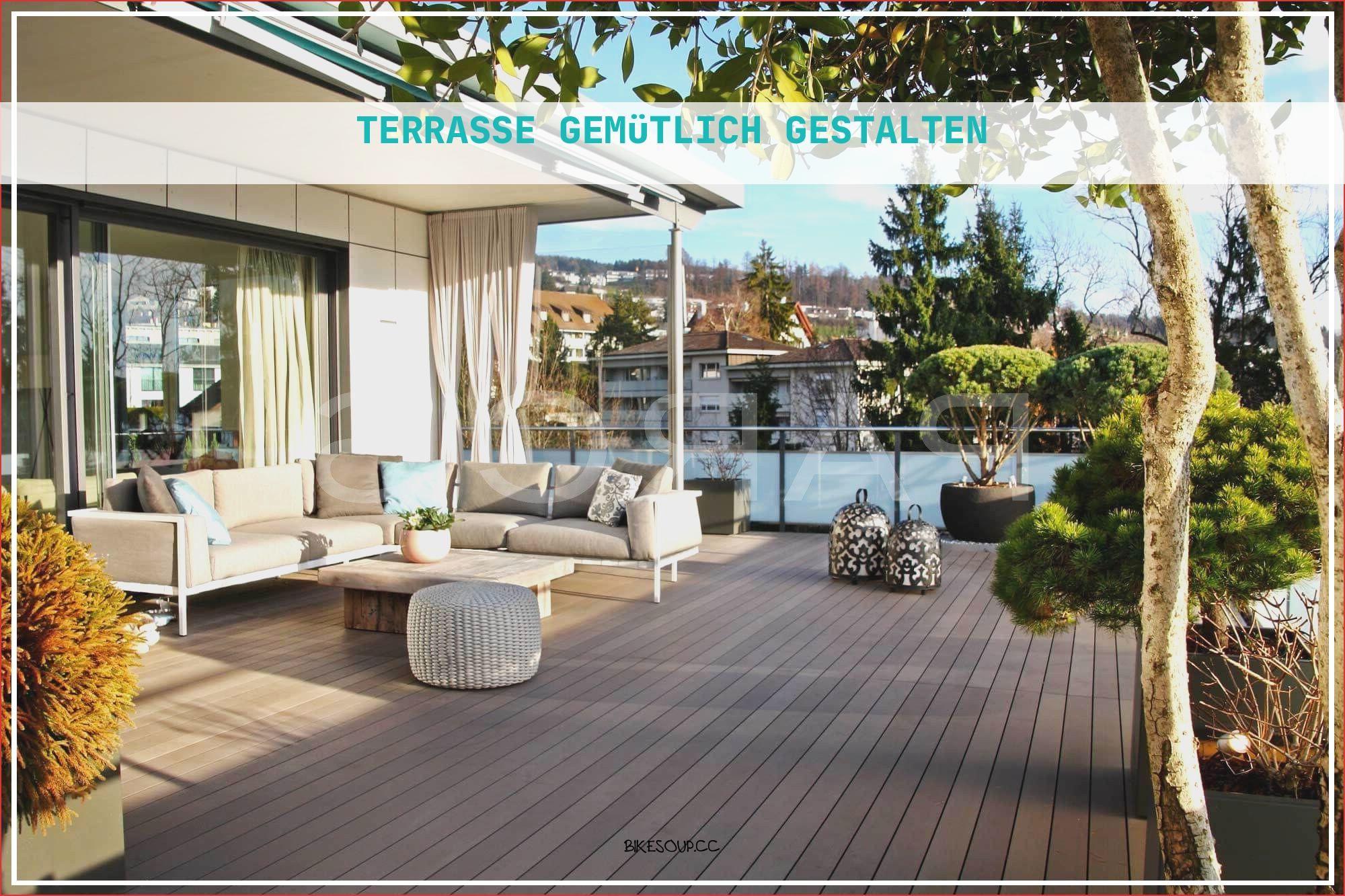 20 Inspirierend Terrasse Gemütlich Gestalten   Große terrasse ...