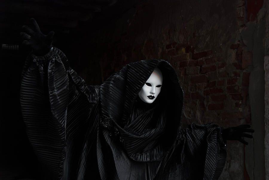 Venetian Carnival - Ghost Of Carnival Photograph  - Venetian Carnival - Ghost Of Carnival Fine Art Print