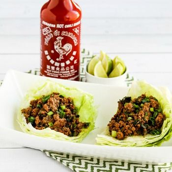Sriracha beef lettuce wraps low carb ground beef recipes foodies sriracha beef lettuce wraps low carb ground beef recipes forumfinder Choice Image