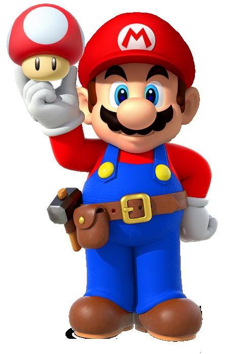 Mario Maker With Super Mushroom By Banjo2015 Deviantart Com
