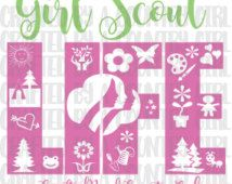 Girl Scout Life Svg