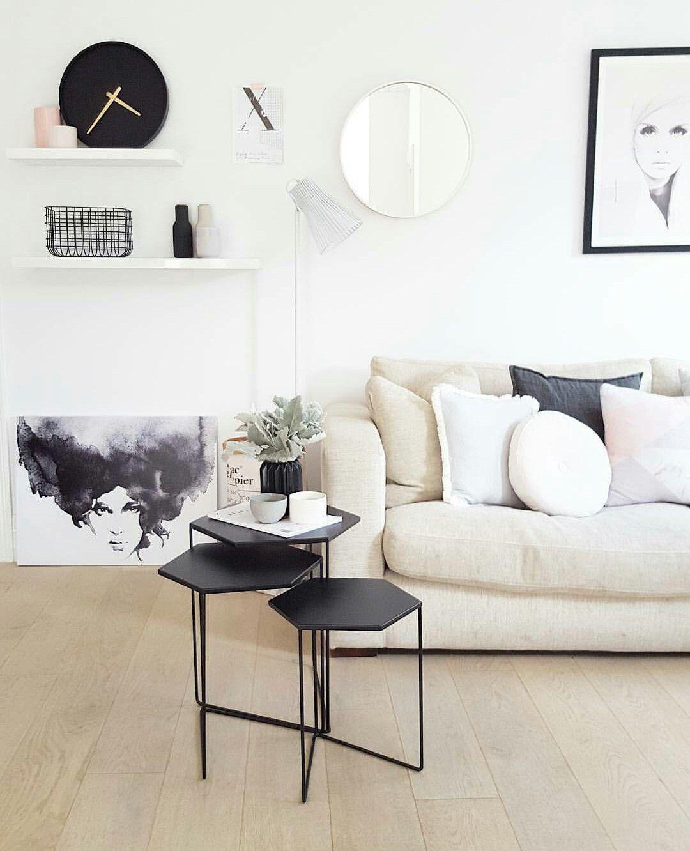 Play Houses, Work Spaces, Room Goals, White Decor, Salon Ideas,  Scandinavian Design, House Design, Future House, Side Tables