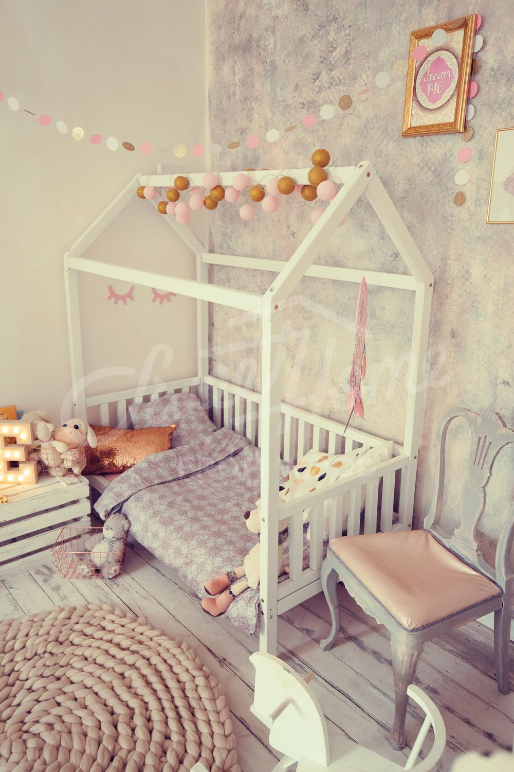 Baby Bed Toddler Bed Or Wood Bed House House Beds Pinterest