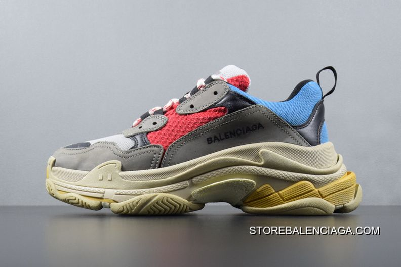 Balenciaga Triple S 17 Fw Autumn Fall And Winter Color Retro Running Shoes  For Sale
