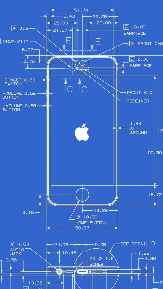 Technical Wallpaper Wallpaper Pinterest Drawings Iphone