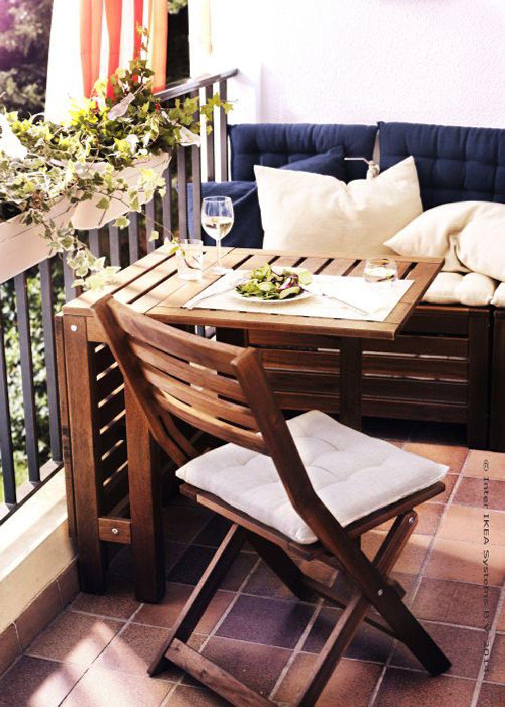 nos meilleures idées pour aménager un petit balcon | balconies