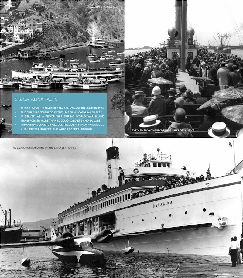 The S S Catalina Made Her Maiden Voyage On June 30 1924 Photos Courtesy Of The Catalina Island M Images Of California Catalina Island San Luis Obispo County