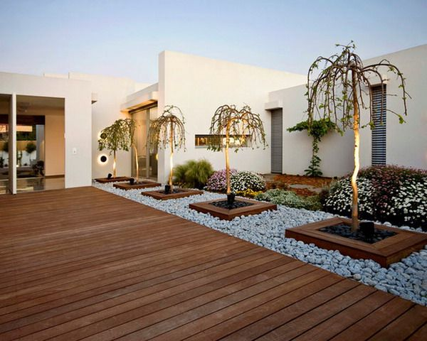 Mixed Paving And Decking Patio Designs   Google Search