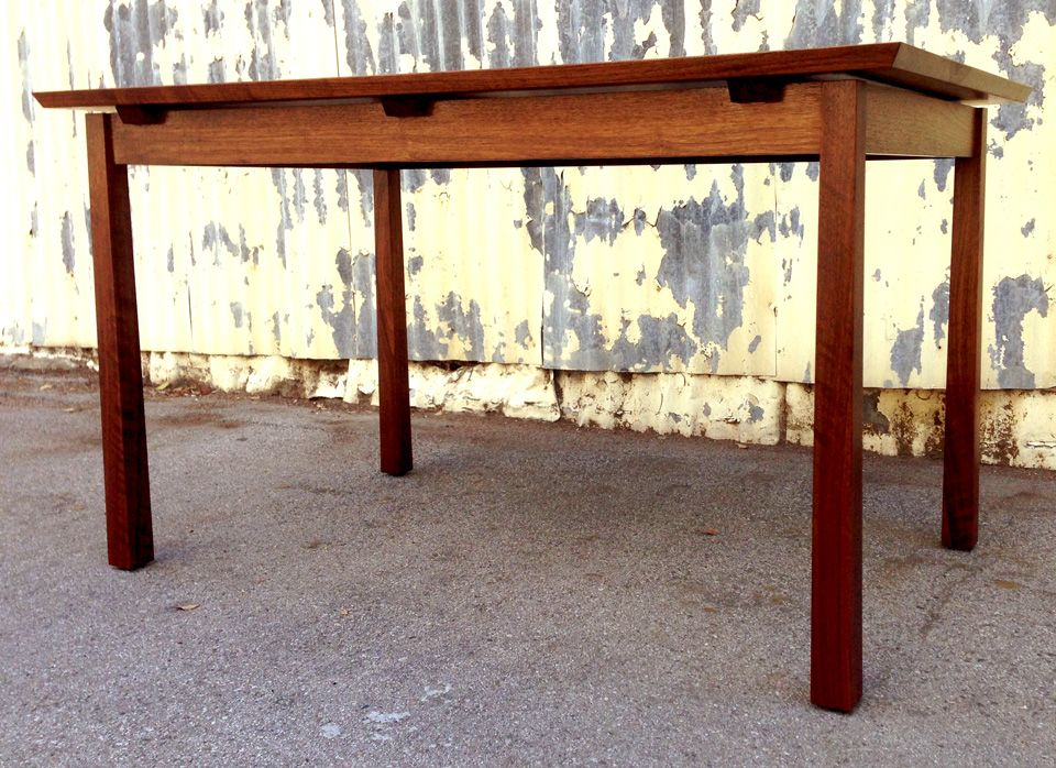 Hand Made Custom Walnut Dining Table Designed And Built By Josh From Offerman Woodshop