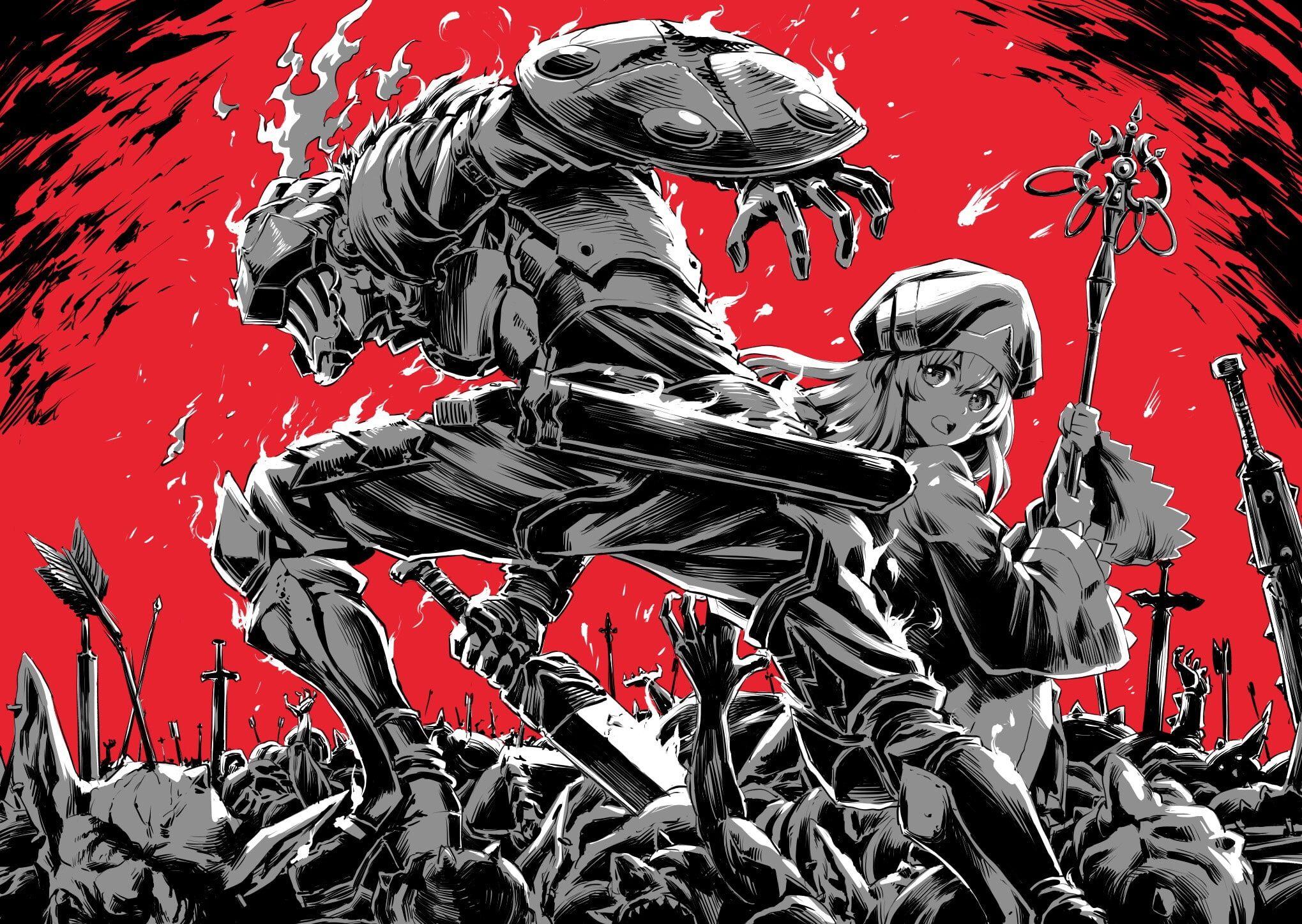 Anime Goblin Slayer Onna Shinkan 1080p Wallpaper Hdwallpaper Desktop Slayer Anime Slayer Anime