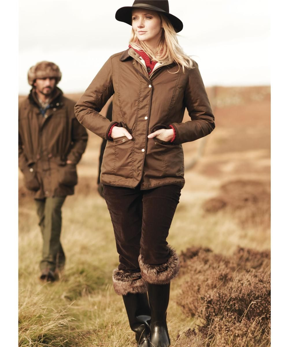 Womens Barbour Coventry Waxed Jackets Brown. www.sportinglifeblog ...