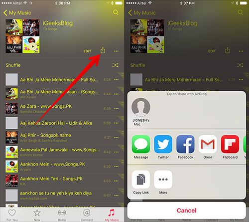 How to Share Apple Music Playlist with Family and Friends