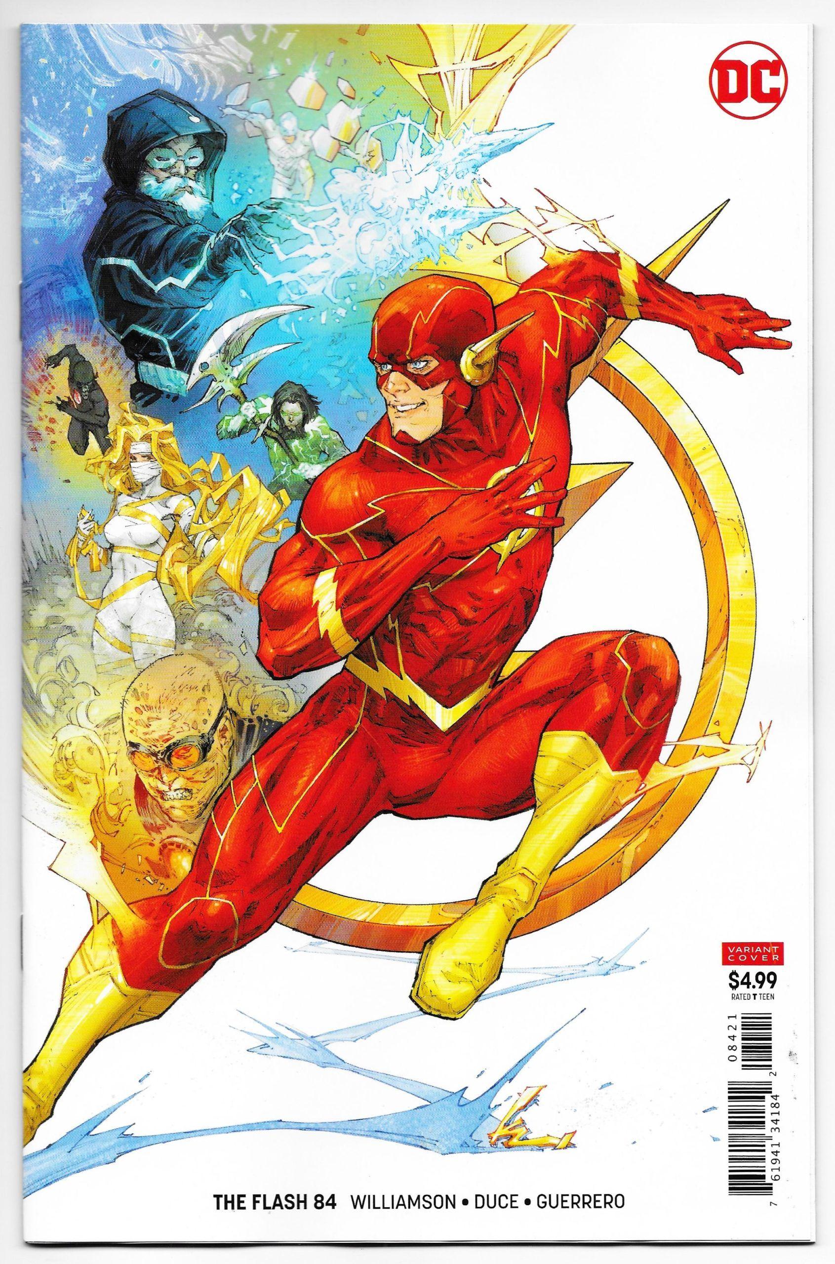 Flash 84 Rocafort Card Stock Variant Dc 2020 Nm Comic Books