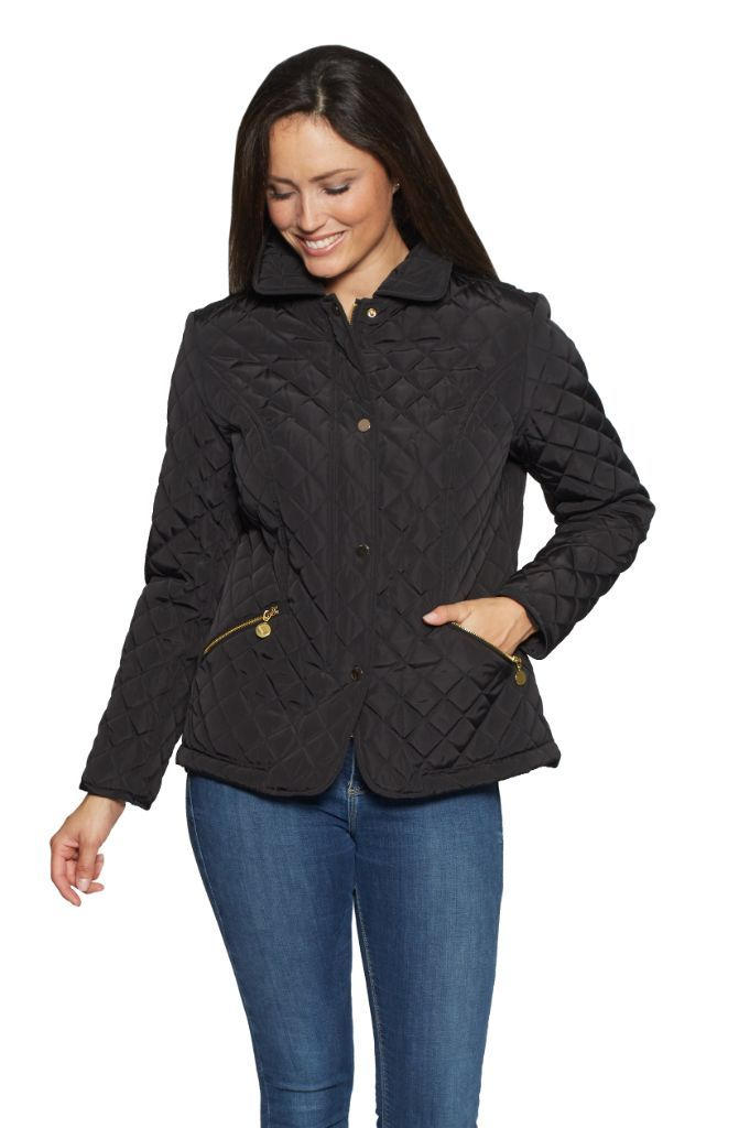 Latest Offer Db553 Womens Luxury Diamond Quilt Jacket In 2019