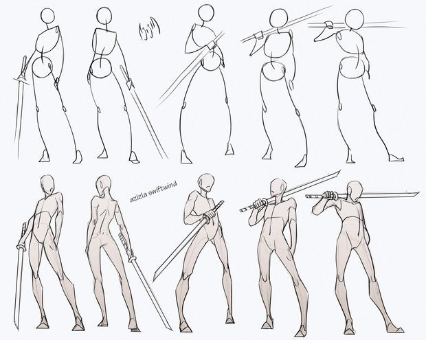 Swordsman Poses Pack | Azizla Swiftwind on Patreon