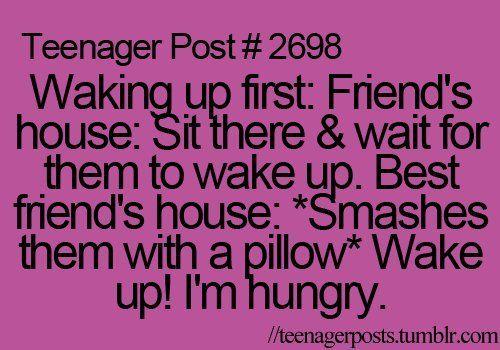 I Always Wake Up First.