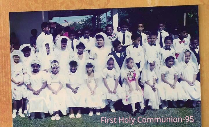 Class of 1995 First Holy Communion Group Photo