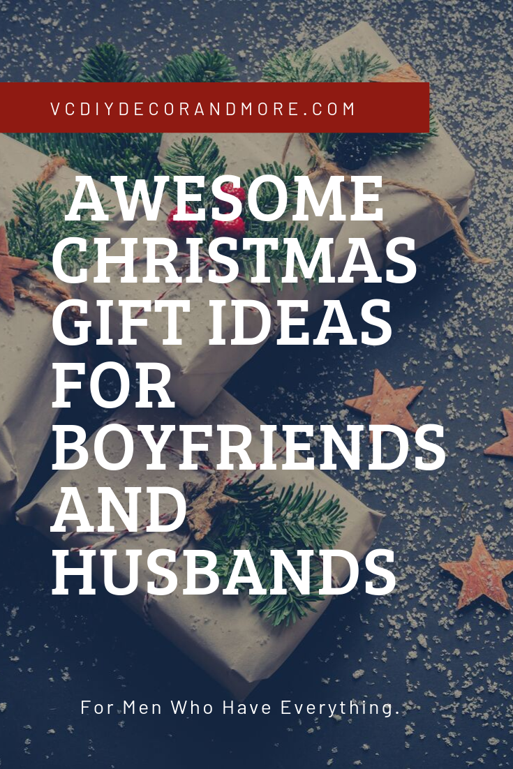 Awesome Christmas Gifts Ideas for Him Boyfriend, Husband