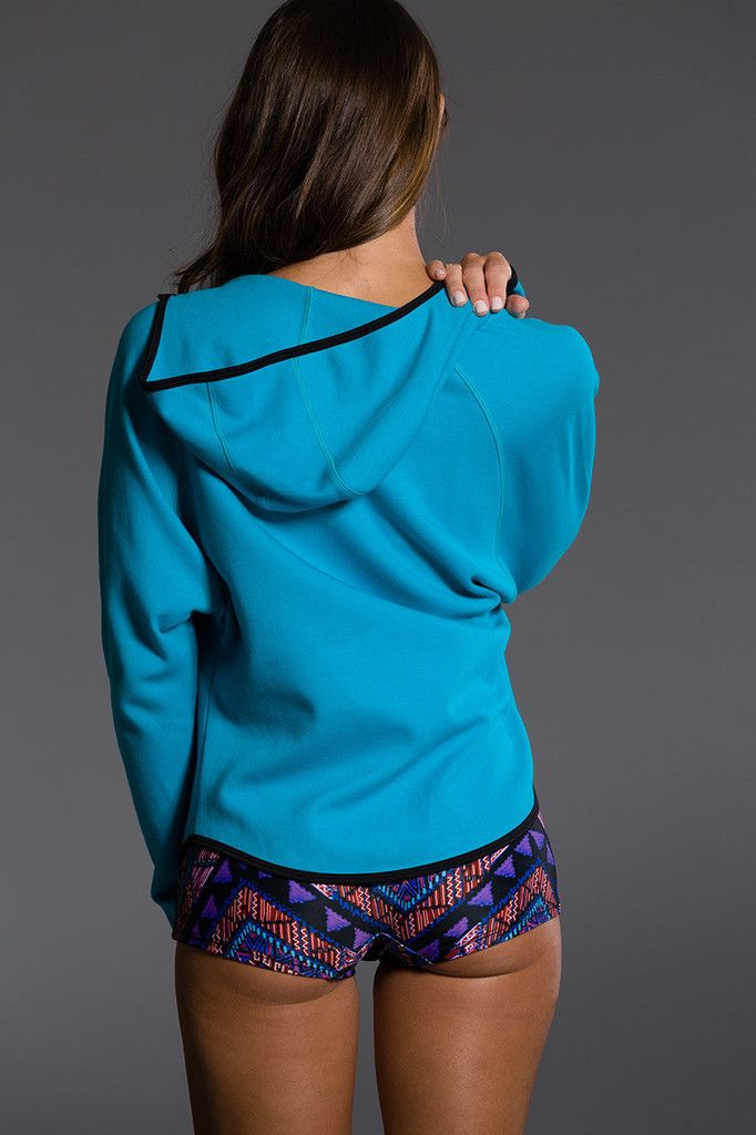 Onzie Dolman Jacket - Turquoise