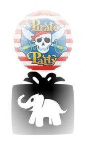 Pirate theme white elephant party