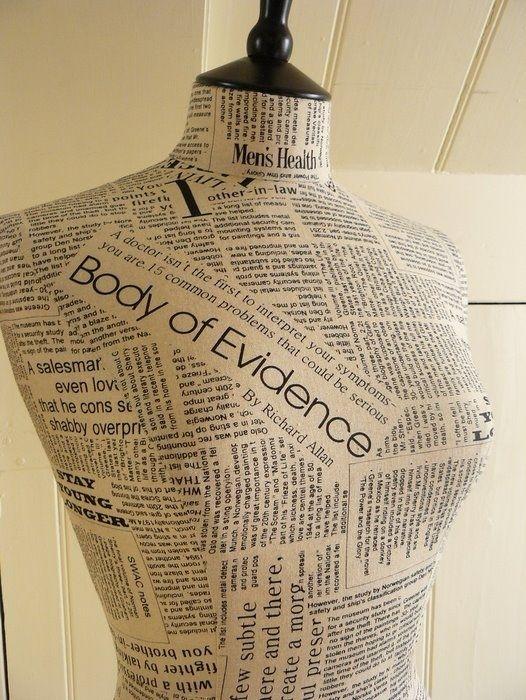 DIY dress form!!
