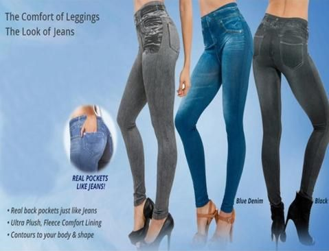 7938f15a37857c Janish™ - Curvy Jegging Jeans (Plus Size available)   Leggin_tights ...