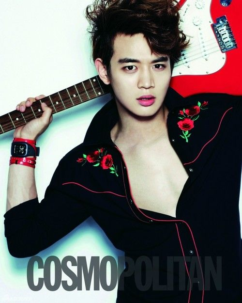 SHINee Minho – Cosmopolitan Magazine