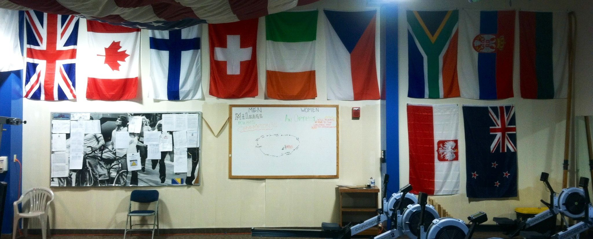Mercyhurst Rowing represents our international flavor by bringing together different countries and cultures under one program of success.