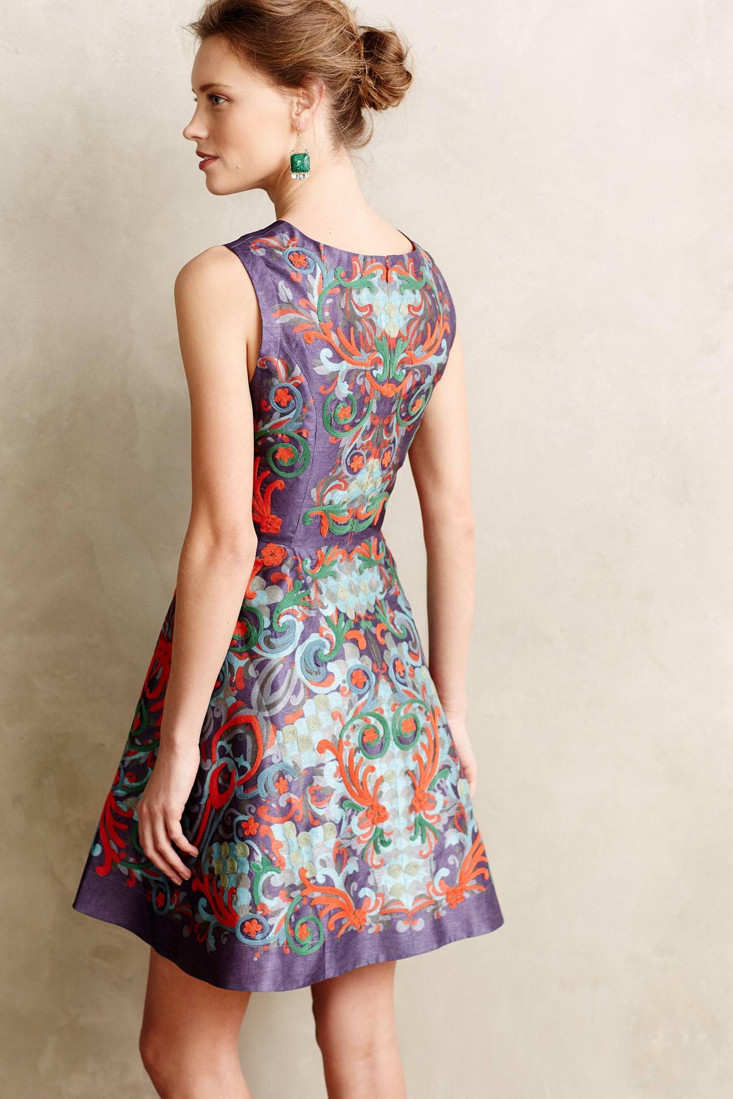 Pankaj & Nidhi - Bouquet Dropwaist Dress - Lyst