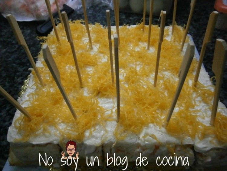 Pastel De Marisco Hecho Con Pan De Molde Pastel De Marisco