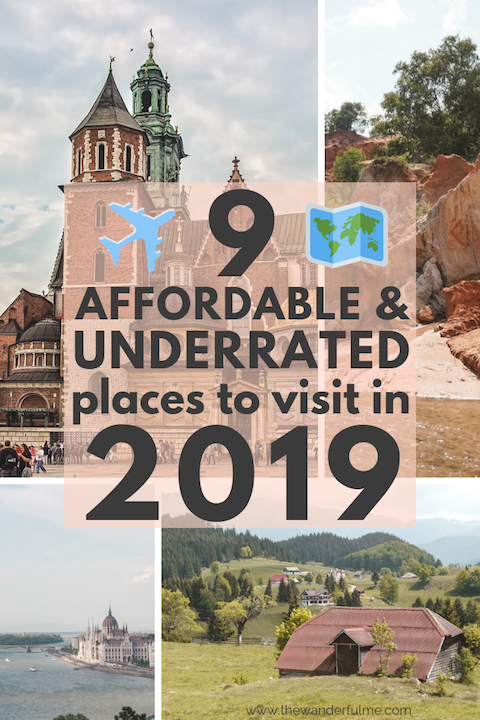 10 Crazy Affordable & Underrated Places to Visit in 2020
