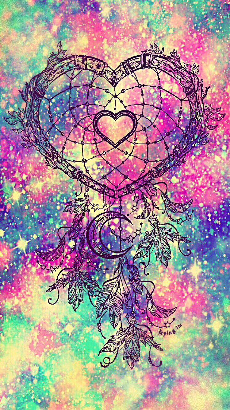heart dreamcatcher galaxy wallpaper androidwallpaper iphonewallpaper wallpaper galaxy cute. Black Bedroom Furniture Sets. Home Design Ideas