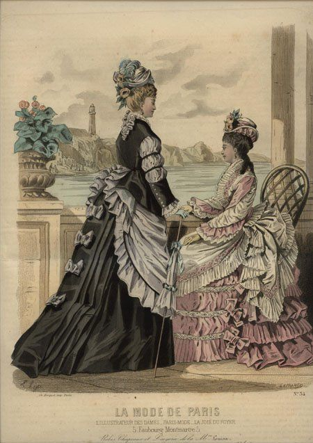 La Mode de Paris 1874