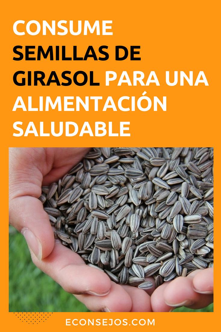 Beneficios y contraindicaciones de las semillas de girasol