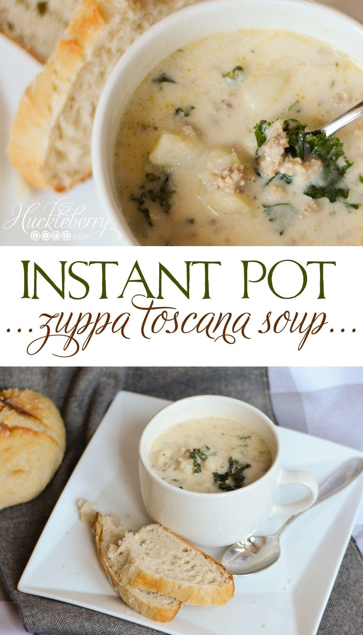 Instant pot zuppa toscana soup Recipe Toscana soup