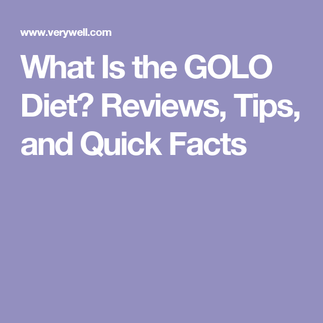 What Is The Golo Diet Golo Diet And Diet Reviews