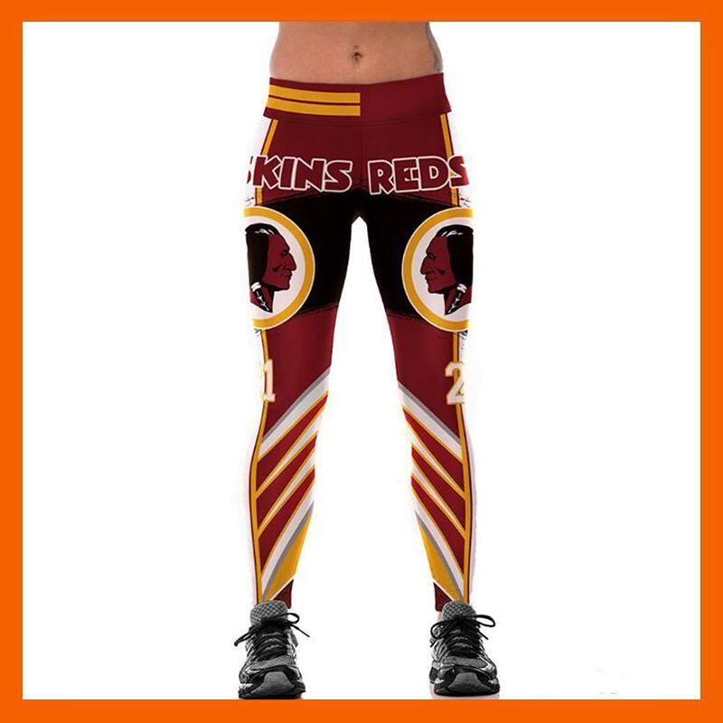 74132d69c74b34 Washington redskin 3d print women leggings high waist legging ...
